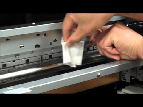H4 Pro Encoder Strip Cleaning
