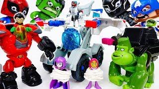 The Avengers Gone Mad~! Teen Titans Go, Wake Them Up - ToyMart TV
