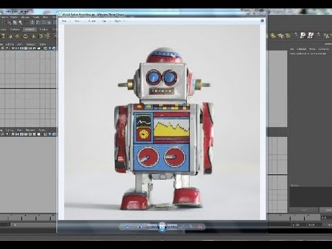 Basic 3d Modeling in Maya: How to model a Toy Robot_Part1