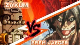 Giant Zakum Battle!