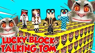 LUCKY BLOCK GIGANTI DI TALKING TOM SU MINECRAFT!!!