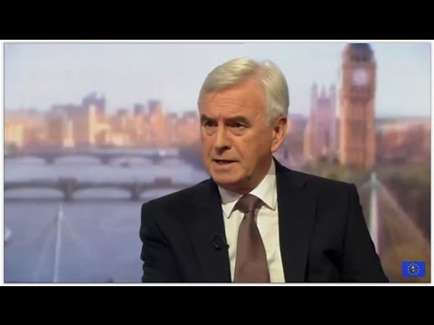 John McDonnell denies Marxism claim as Labour launches election tax pledge
