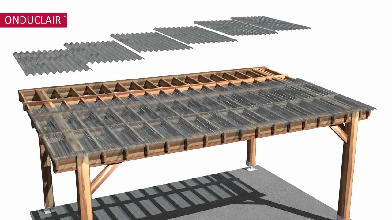 Made By Me How To Install Onduline Onduclair Roofing For