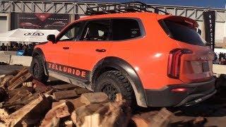 Off-Road at SEMA: 2020 Kia Telluride —PickupTrucks.com