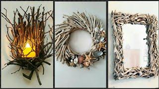 Beautiful  Driftwood Craft & Home Decorating idea's