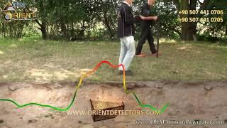 جراوند نافيجيتور 2 - جهاز كشف الذهب الالماني | طريقة اجراء المسح في وضع المسح الأرضي