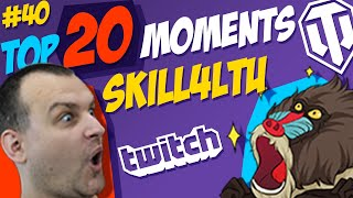 #40 skill4ltu TOP 20 Funny Moments   Best Twitch Clips   World of Tanks