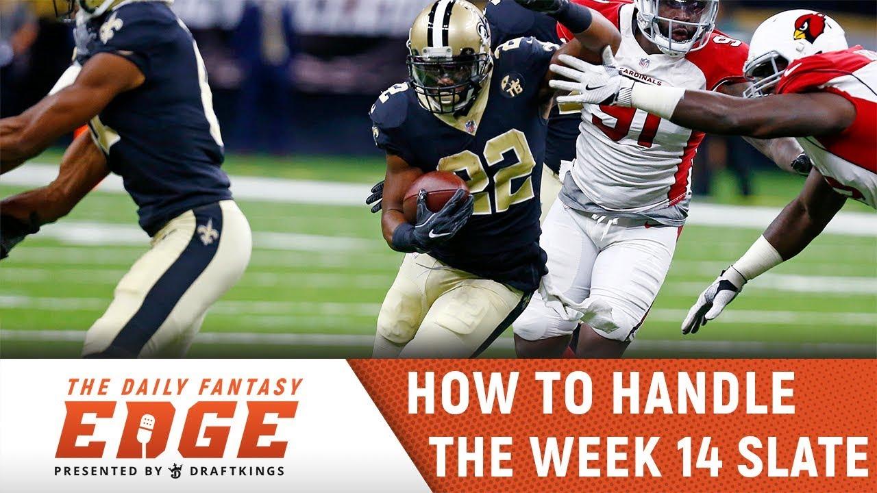 Daily Fantasy Edge Podcast Draftkings Nfl Week 14 Main Slate Youtube