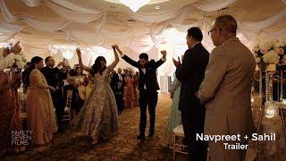 Hidden Falls, Hindu Temple of Canton, & Farmington Manor Wedding | Navpreet + Sahil Trailer
