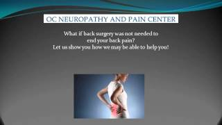 neuropathy pain relief in orange county ca