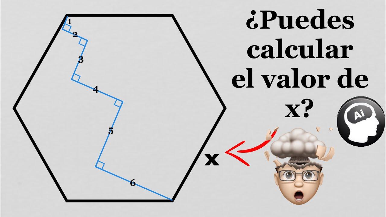 Solución (fuera de la caja) para un problema de geometría
