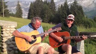 Words of Love (Buddy Holly / Beatles - acoustic cover in the Alps)