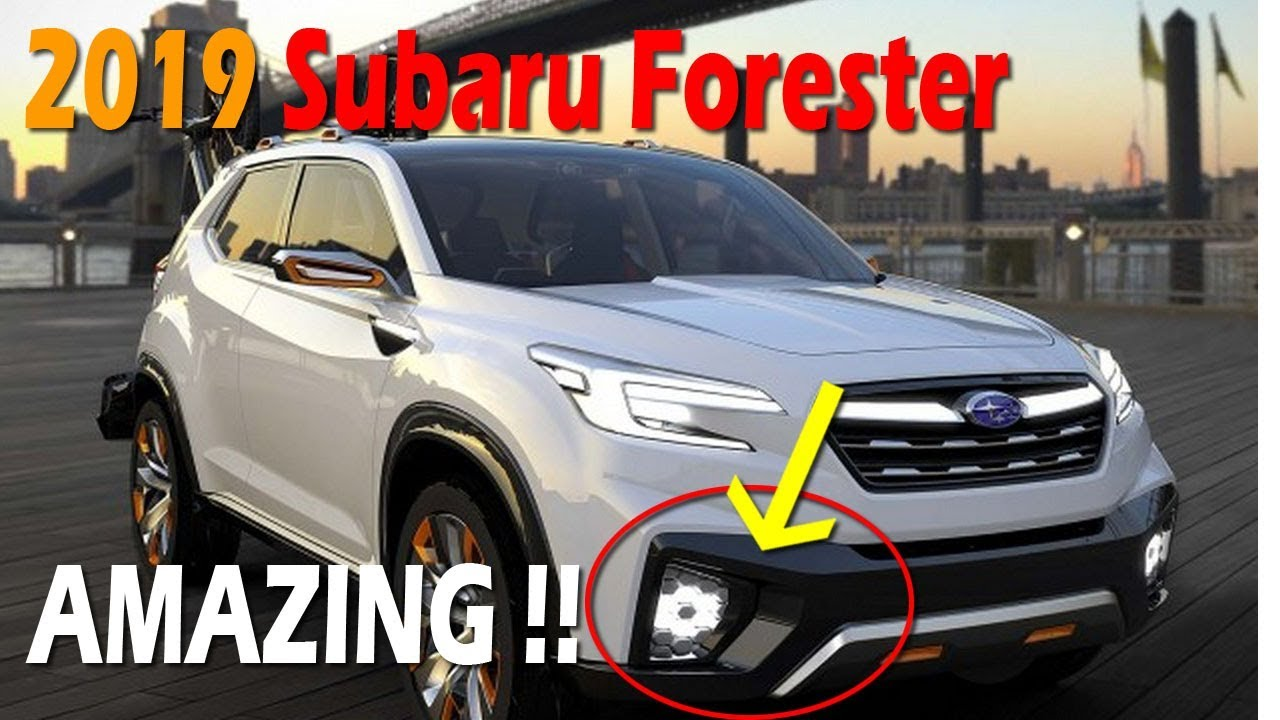 Hot News 2019 Subaru Forester Redesign Furious Cars Youtube