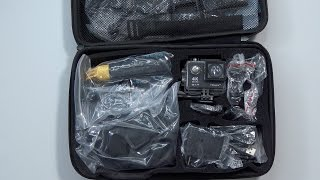 This Action Camera Has SO Many Accessories! Vikeepro 4k Sport Camera