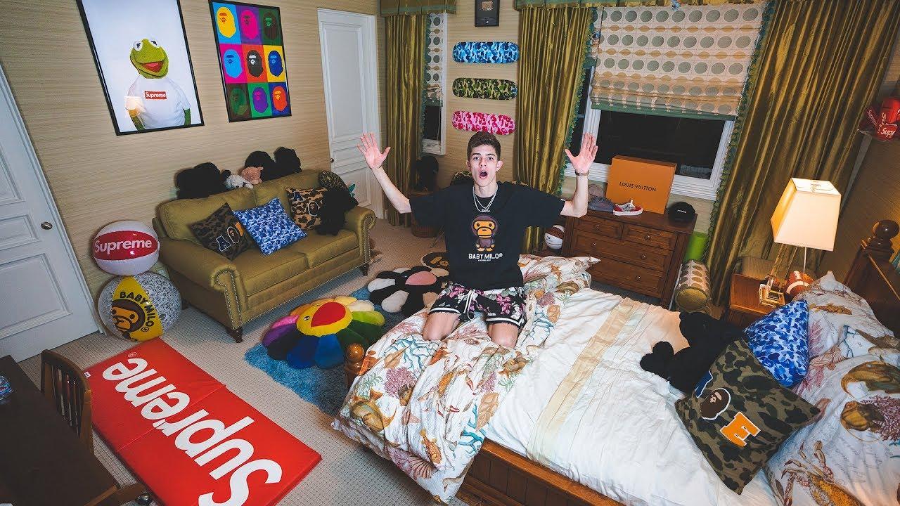 My New Dream Hypebeast Bedroom Tour