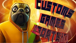 FORTNITE-! GIVEAWAY OF VBUCKS-CUSTOMS GAMES + CREATIVE! EPIC GAVE ME VBUCKS!! -#296