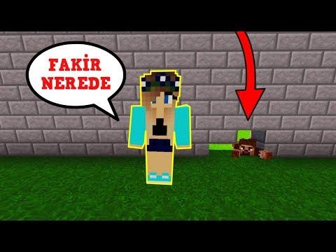 ZENGİN VS FAKİR #145 - Çiçek Fakiri Arıyor (Minecraft)