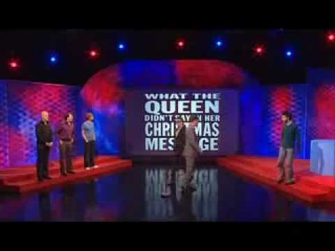 Mock the Week - Scene's We'd Like To See - What The Queen Didn't Say In Her Christmas Message