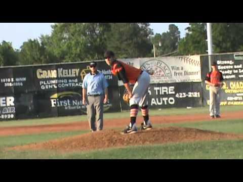 Jefferson Hall throwing