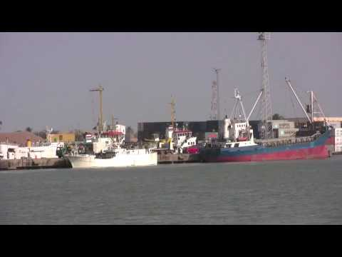 Banjul Port and Barra Ferry Terminal, The Gambia - 4th March