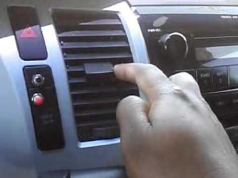 2007 Toyota Tundra Drivers Side Vent Louvers