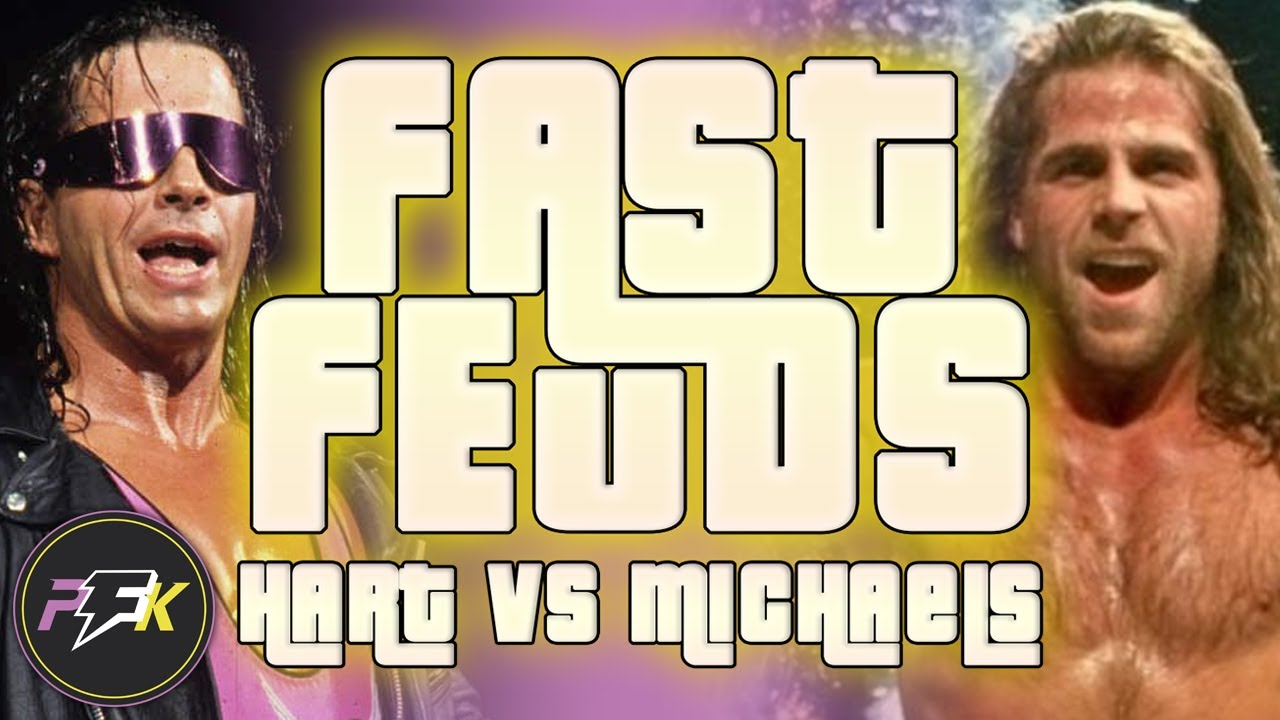The WWE History of Bret Hart vs Shawn Michaels... In About 4 Minutes | Fast Feuds | partsFUNknown