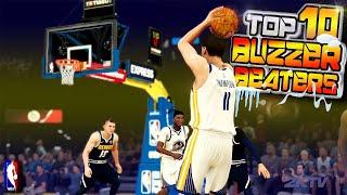 NBA 2K20 TOP 10 BUZZER BEATERS & Game Winning Shots! #25