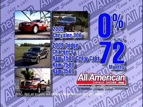 All American Chrysler Dodge Jeep - Savings Stampede