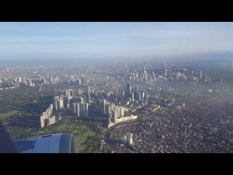 Manila City Philippines (Flight View April 2017)