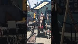 El Condor Pasa play Peru Musician in Granville island