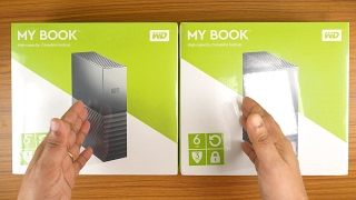 WD MyBook Essential 2017 - 6TB Unboxing