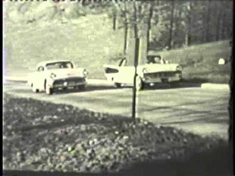 """You're on the Test Track"" with the 1957 Chrysler and Imperial Automobiles"