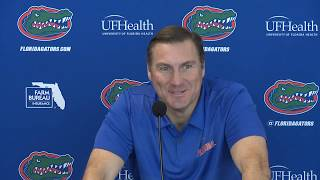 Florida Football: Dan Mullen Press Conference 11-19-18