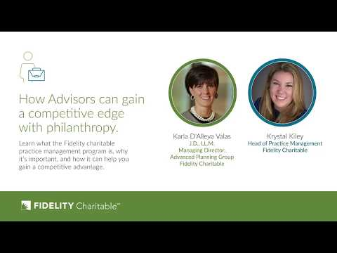 How advisors can gain a competitive edge with philanthropy
