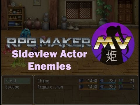 Sideview Actor Enemies – 姫HimeWorks
