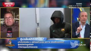 El GESTO de RIQUI PUIG tras quedarse en la GRADA ante el INTER