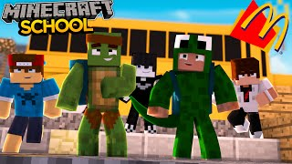 Minecraft School S2 - MCDONALDS COMES TO SCHOOL!