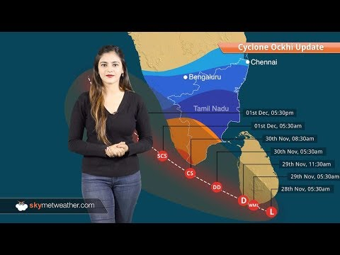Cyclone Ockhi update: To intensify into in severe cyclone in next 24 hours