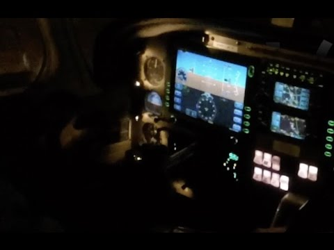 Touch & Go at EBCI Night VFR