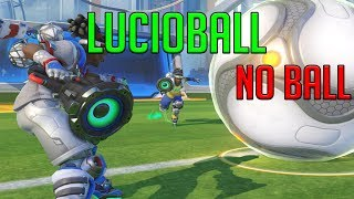 Overwatch: LucioBall Glitch - Ball Disappears