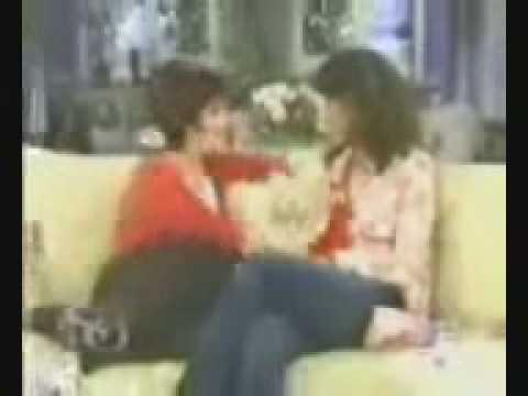 Jennifer Beals on Sharon Osbourn show (Interview) part 1