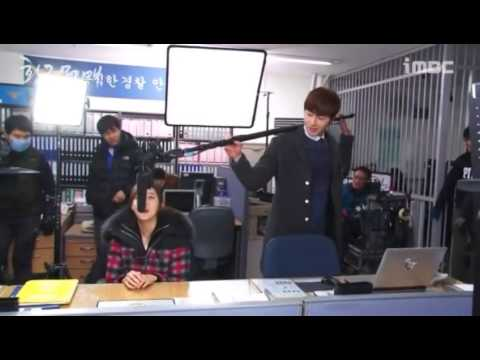 [BTS] UEE (Baek Won) & Jung Il Woo (Do Young) - One-day staff