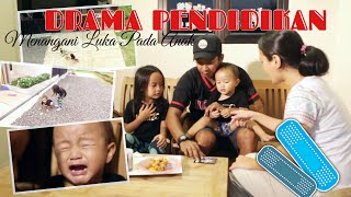 DRAMA PENDIDIKAN   Cara Menyembuhkan Luka pada Anak   Keluarga Zara Cute