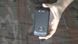 Противоударный и водонепроницаемый телефон Sigma mobile x-treme pq12