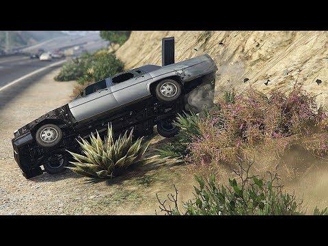 GTA 5 CAR CRASHES AND ROLLOVERS COMPILATION!!! thumbnail