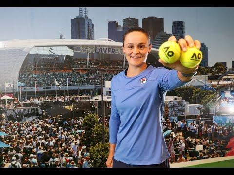 Ashleigh Barty 2020 Australian Open Pre Tournament Interview