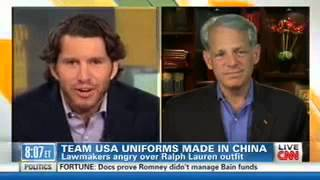 CNN Starting Point: Congressman Israel asks the US Olympic Committee to Use American-Made Uniforms