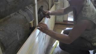 видео Обшивка вагонкой
