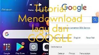 Download Tutorial#1| Tutorial Mendownload lagu dari GOOGLE CHROME