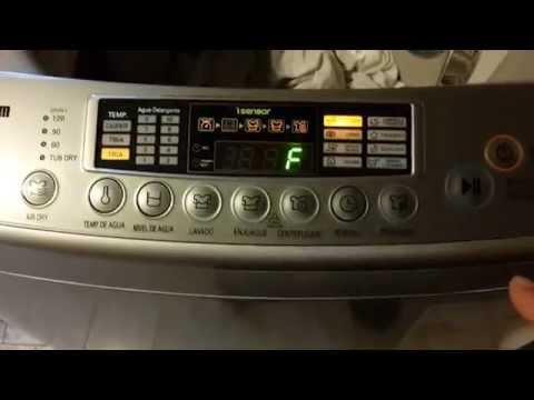 Lavarropa LG automatico TurboDrum